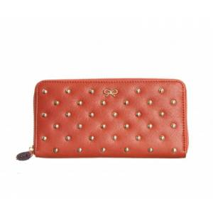 Anya Hindmarch Joss leather purse with studs