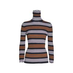 Jucca Pullover turtleneck striped Jucca