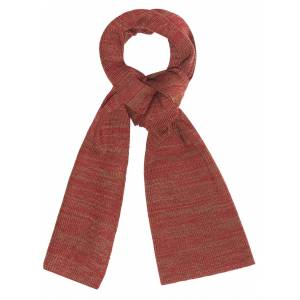 Red & Coffee Scarf