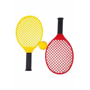 Mountain Warehouse Tennis Rackets and Ball Set - Yellow  -unisex -Size: ONE