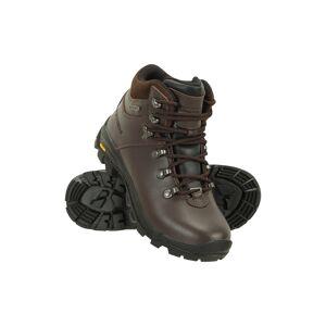 Mountain Warehouse Extreme Latitude Womens Waterproof Vibram Boots - Brown  -female -Size: 8½