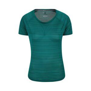 Mountain Warehouse Endurance Striped Womens Tee - Green  -female -Size: 22