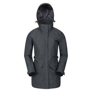 Mountain Warehouse Shore Textured Womens Jacket - Grey  -female -Size: 22