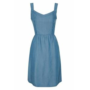 Mountain Warehouse Summer Time Chambray Womens Dress - Blue  -female -Size: 22