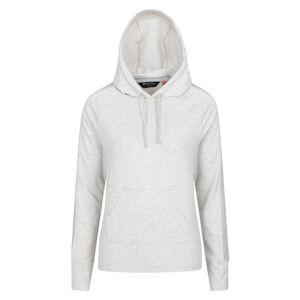 Mountain Warehouse Snug Womens Mesh Hoodie - Grey  -female -Size: 12