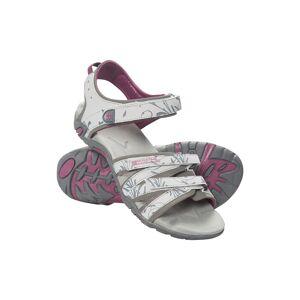 Mountain Warehouse Santorini Wide-Fit Womens Sandals - Grey  -female -Size: 6