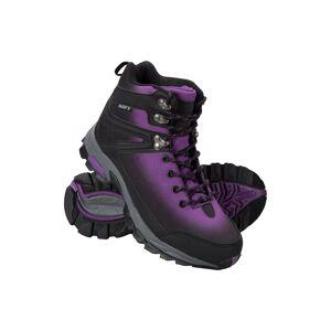 Mountain Warehouse Intrepid Waterproof Softshell Womens Boots - Purple  -female -Size: 6