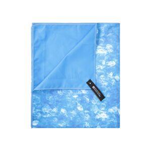 Mountain Warehouse Printed Microfibre Towel - Giant - 150 x 85cm - Blue  -unisex -Size: ONE
