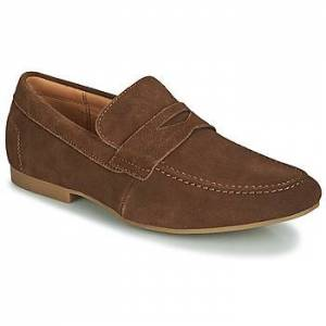 André  TONI  men's Loafers / Casual Shoes in Brown