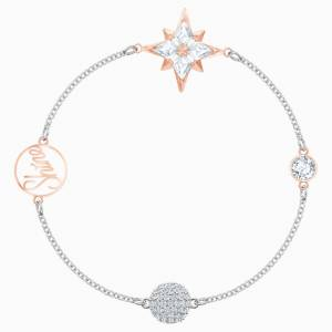 Swarovski Remix Collection Star Strand, Multi-coloured, Mixed metal finish