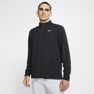 Nike Dri-FIT Victory Men's 1/2-Zip Golf Top - Black  - Size: Medium