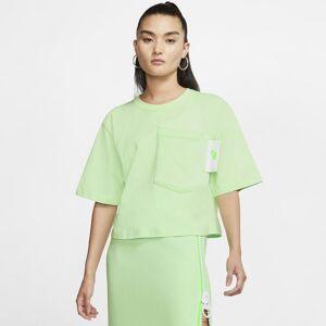 Nike Sportswear Women's Short-Sleeve Crop Top - Green  - Size: Medium
