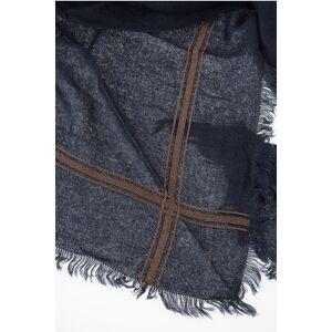 Brunello Cucinelli Cashmere and Silk Fringed Scarf size Unica