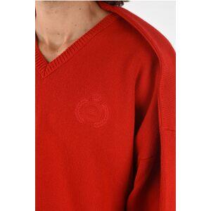 Balenciaga oversize v-neck sweater size M