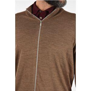 Brunello Cucinelli Virgin Wool and Cashmere Cardigan size 52