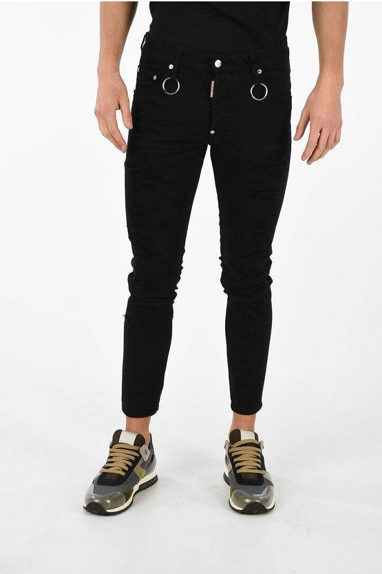 Dsquared2 15 cm Distressed SKATER Jeans size 56