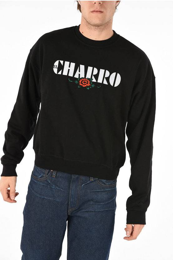 M1992 Embroidered Sweatshirt By Charro size S