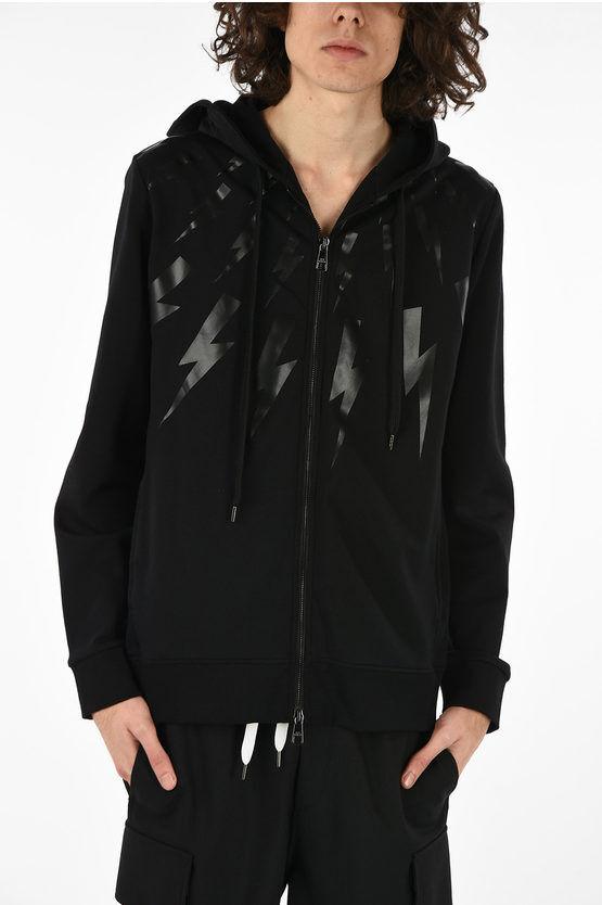 Neil Barrett Thunder Printed Sweatshirt size S