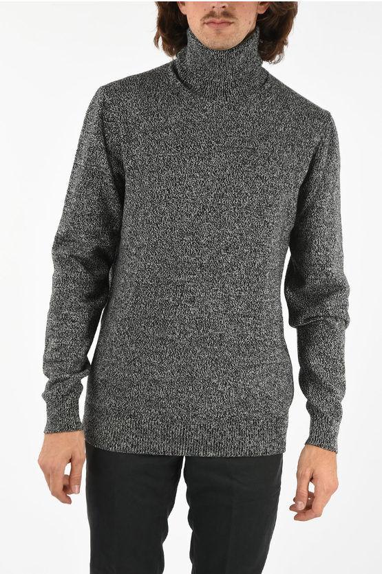 Dolce & Gabbana twill cashmere turtle-neck sweater size 50