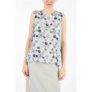 ARMANI JEANS printed top size 48