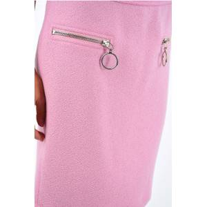 Moschino COUTURE split-back hem knee lenght pencil skirt size 40