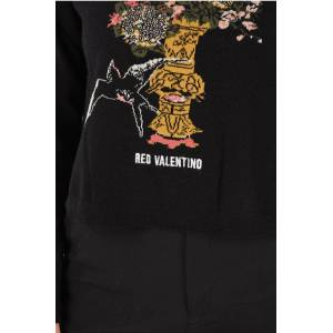 Red Valentino Embroidered Crewneck Sweater size Xs