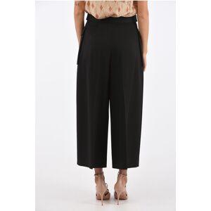 Alexander McQueen high-rise waist cargo wide pants size 42