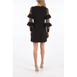 Red Valentino Layered Sleeve A-Line Dress size Xs
