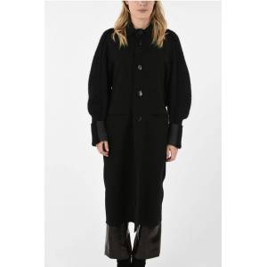 Phaèdo Studios Wool Coat with Knitted Sleeves size M