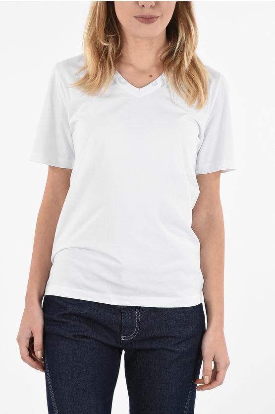 Maison Margiela V-Neck CHARITY T-shirt size S