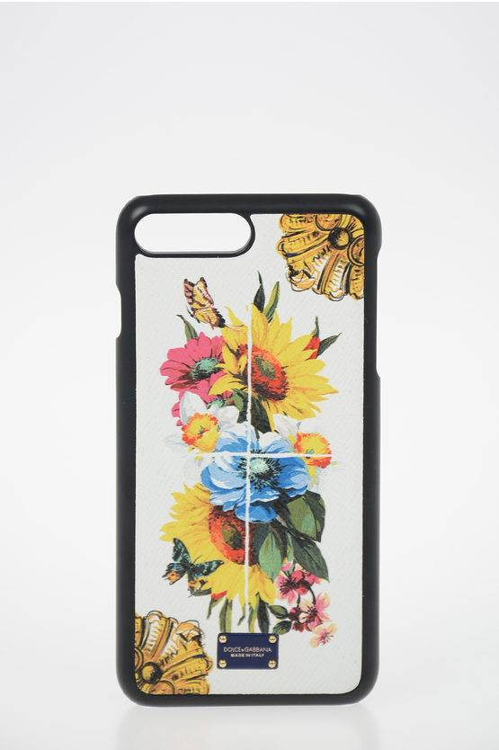 Dolce & Gabbana floral-print leather Iphone 6/6s/7/8Plus Cover size Unica