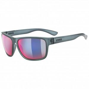 Uvex - Lgl 36 Colorvision Mirror S3 - Sunglasses grey/pink