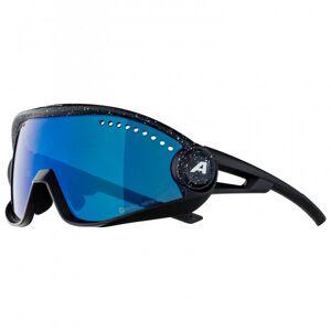 Alpina - 5W1NG CM+ Ceramic Mirror Cat 3 - Cycling glasses blue/black