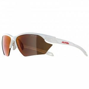 Alpina - Twist Five HR S HM+ Hicon Mirror Cat 1-3 - Cycling glasses brown/grey