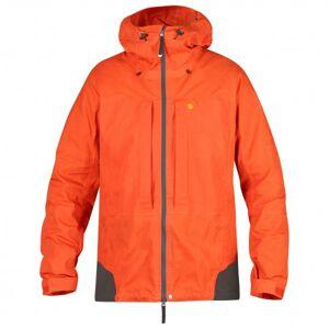 Fjällräven - Bergtagen Jacket - Softshell jacket size L, orange/red