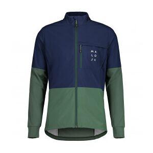 Maloja - KangparM. Jacket - Cross-country ski jacket size S, olive/blue/black