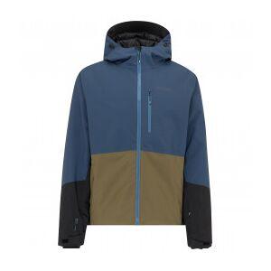 Stoic - MountainWool VallrunSt. Ski Jacket - Ski jacket size S, blue/olive/black