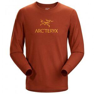 Arc'teryx - Arc'Word T-Shirt L/S - Longsleeve size XXL, red