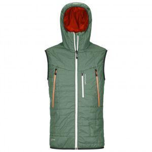Ortovox - Swisswool Piz Boè Vest - Merino vest size S, grey/olive