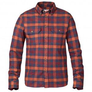 Fjällräven - Skog Shirt - Shirt size XS, red/purple