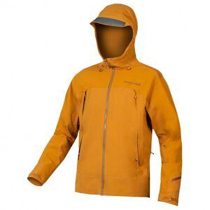 Endura - MT500 Wasserdichte Jacke II - Cycling jacket size XL, orange/brown