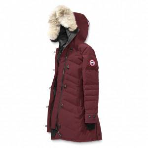 Canada Goose - Ladies Lorette Parka - Coat size XS, red