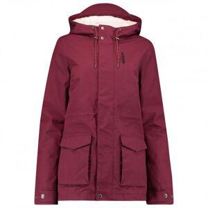 O'Neill s LW Wanderlust Jacket - Parka size L;S;XL, grey/white/sand;red