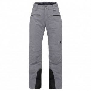 Peak Performance - Women's Scoot Melange Pant - Ski trousers size M, grey