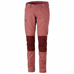 Lundhags - Women's Vanner Pant - Walking trousers size 34, red/pink