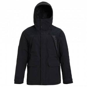 Burton - Breach Jacket - Ski jacket size S;XL, black;olive