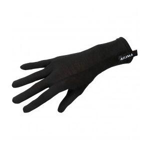 Aclima - LW Liner Gloves - Gloves size 10, black