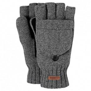 Barts - Haakon Bumgloves - Gloves size L/XL, grey/black