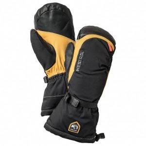 Hestra - Army Leather Expedition Mitt - Gloves size 11, black