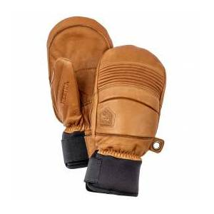 Hestra - Leather Fall Line Mitt - Gloves size 9, brown/sand